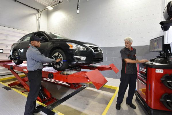 Fred Anderson Nissan Of Fayetteville Service Department