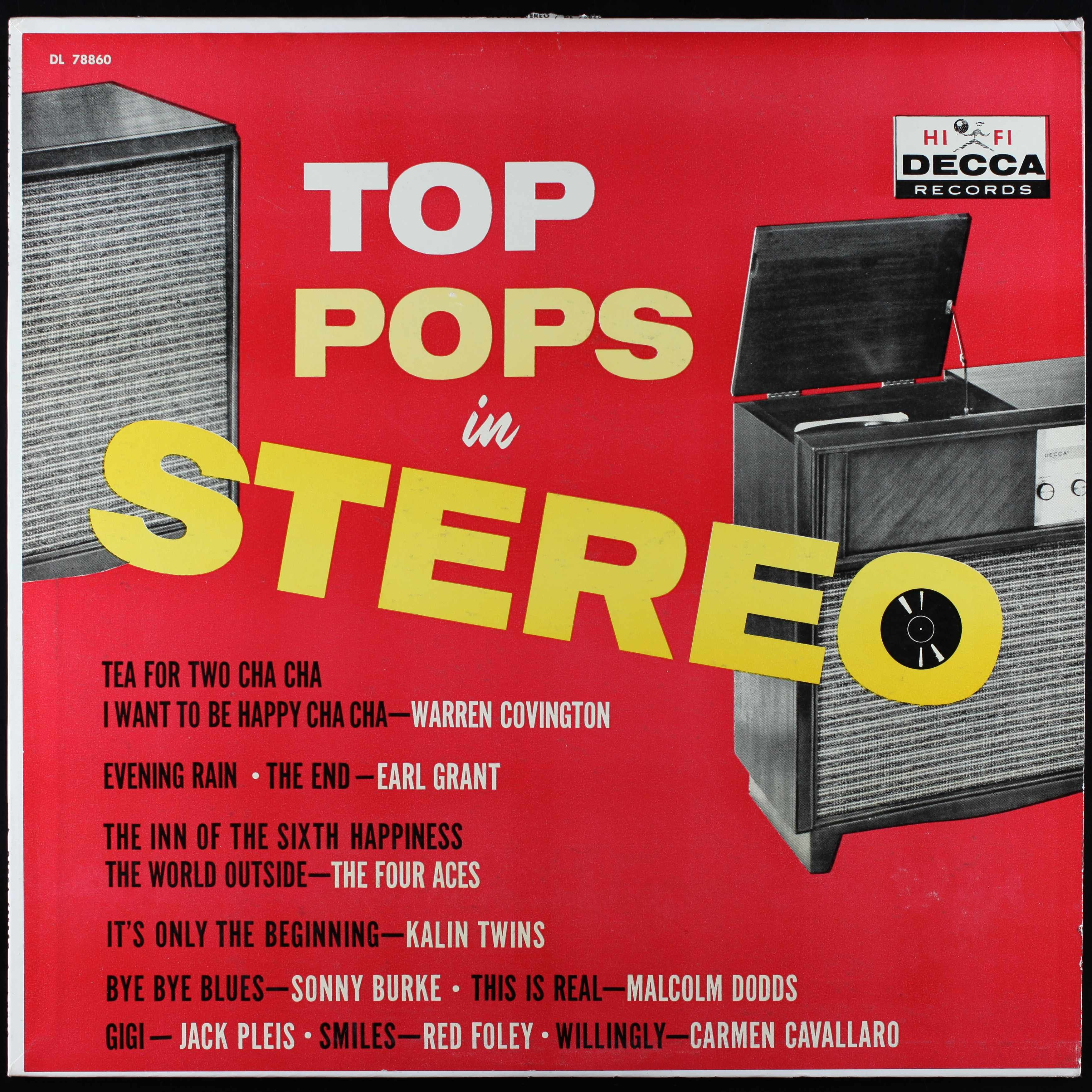 Various Artists - Top Pops in Stereo (1959)