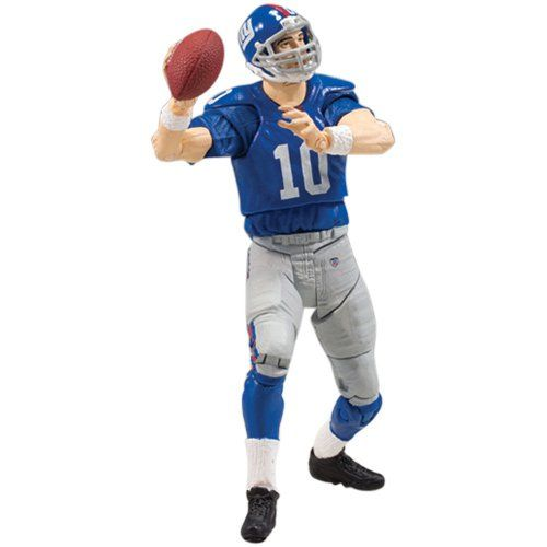 best service 46989 266a8 McFarlane Playmakers NFL New York Giants Eli Manning Action ...