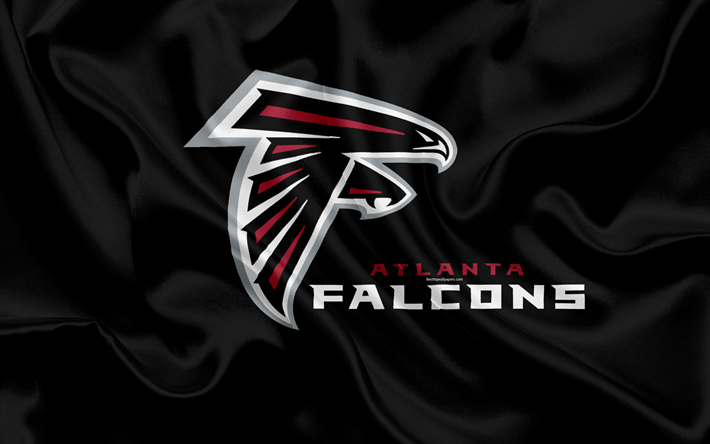 Download Wallpapers Atlanta Falcons American Football Logo Emblem Nfl National Football League Atlanta Georgia Usa National Football Conference Besthqw Atlanta Falcons Football Atlanta Falcons Falcons Football