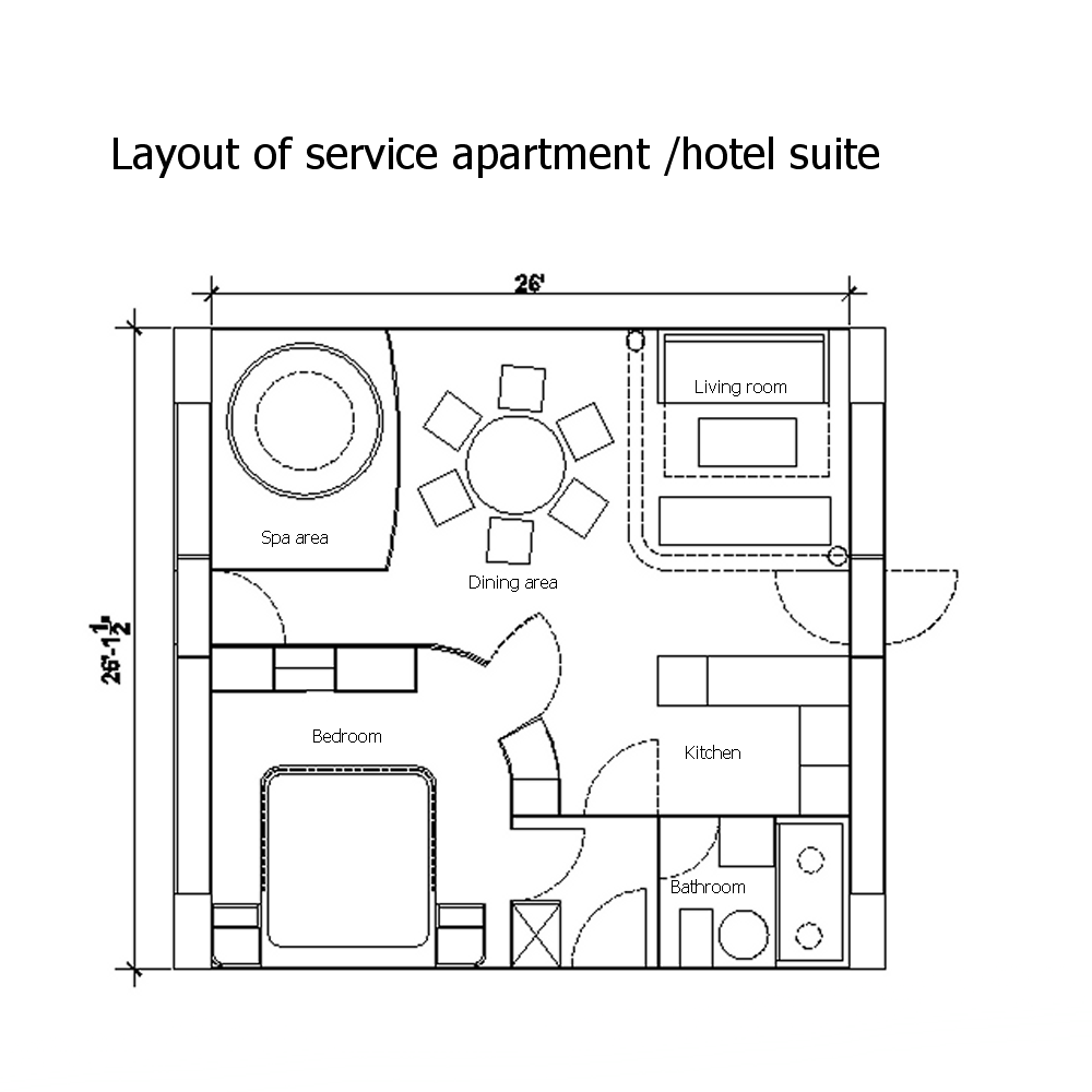 hotel room layout dimensions Google Search (With images