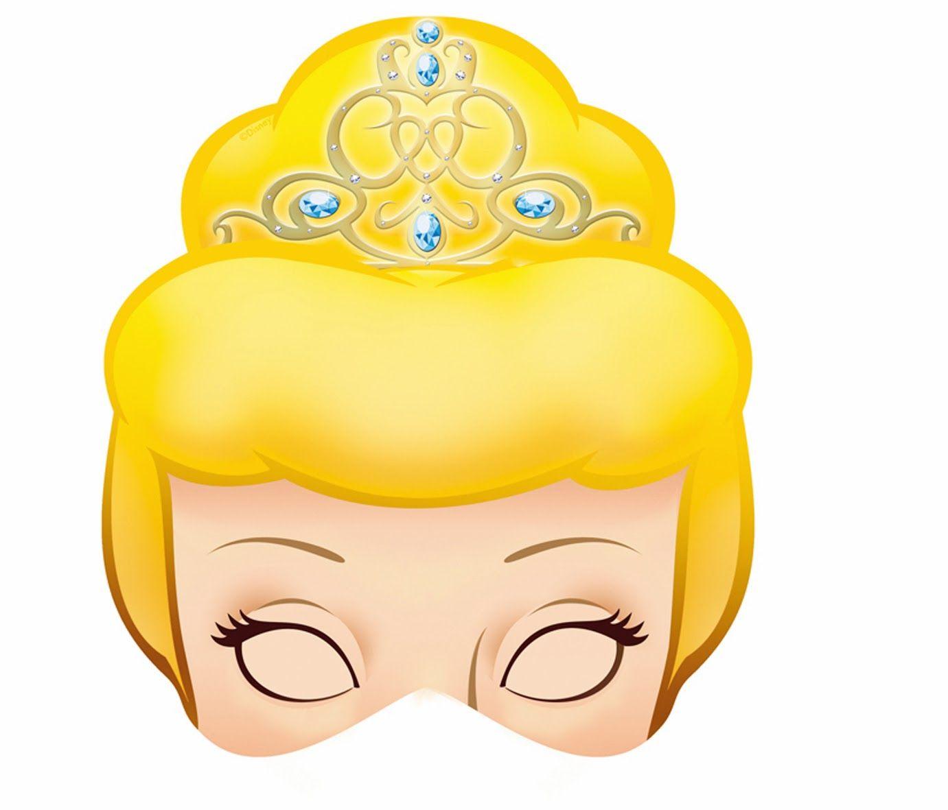 Cinderella Free Printable Masks. | Teatras | Pinterest | Imprimir ...