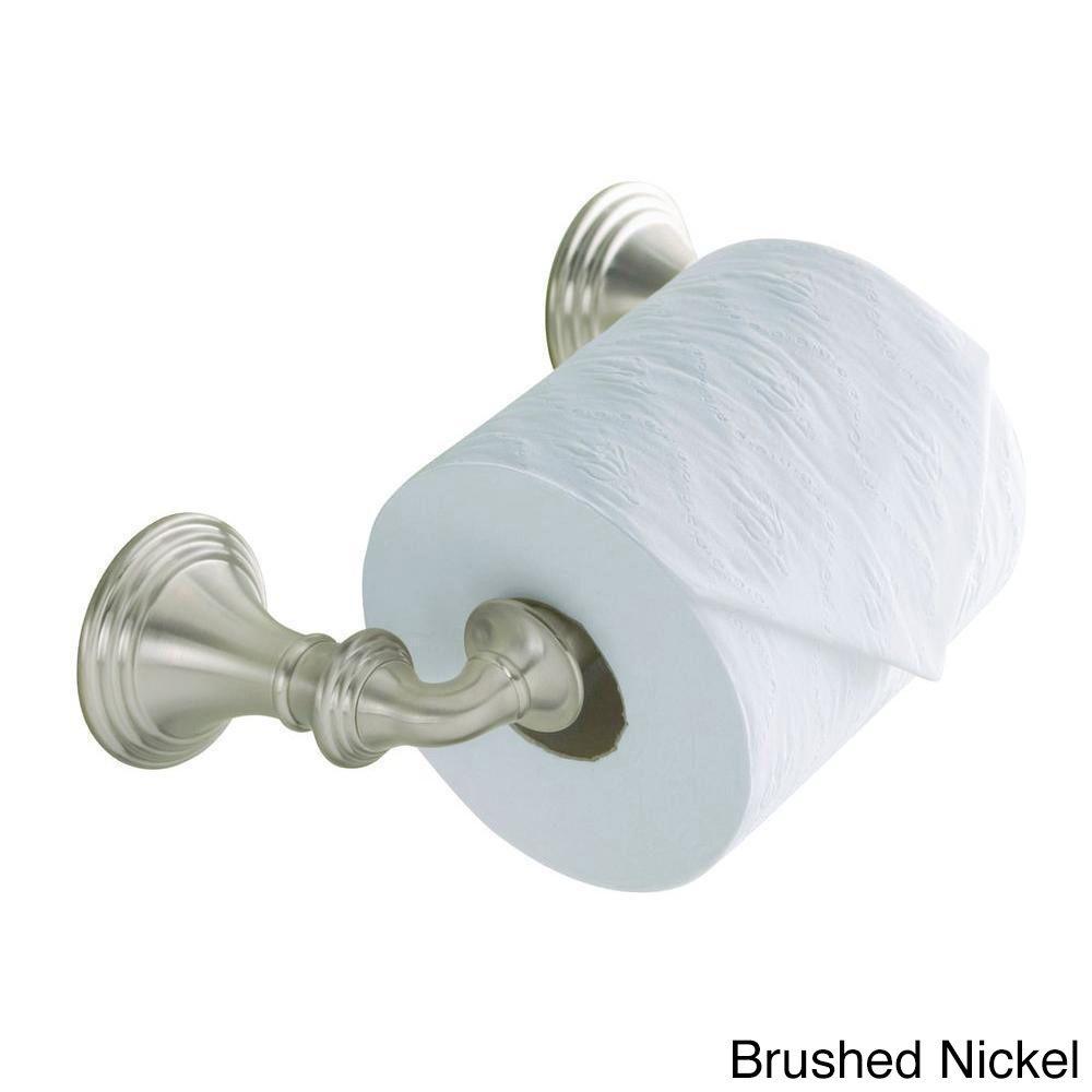 Kohler Devonshire Wall-mount Double Post Toilet Paper Holder ...