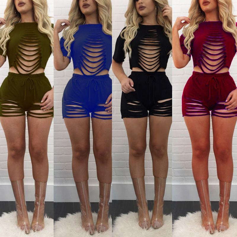 fbf91e59e125 2017 Sexy fashion design summer rompers short sleeve