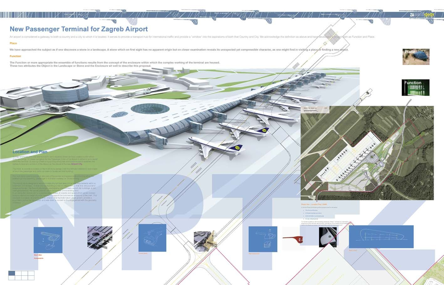 Proposal For A New Terminal At Zagreb Airport In 2020 Zagreb Airport Passenger