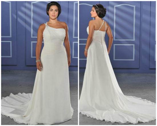 vestido de noiva para gordinhas cauda