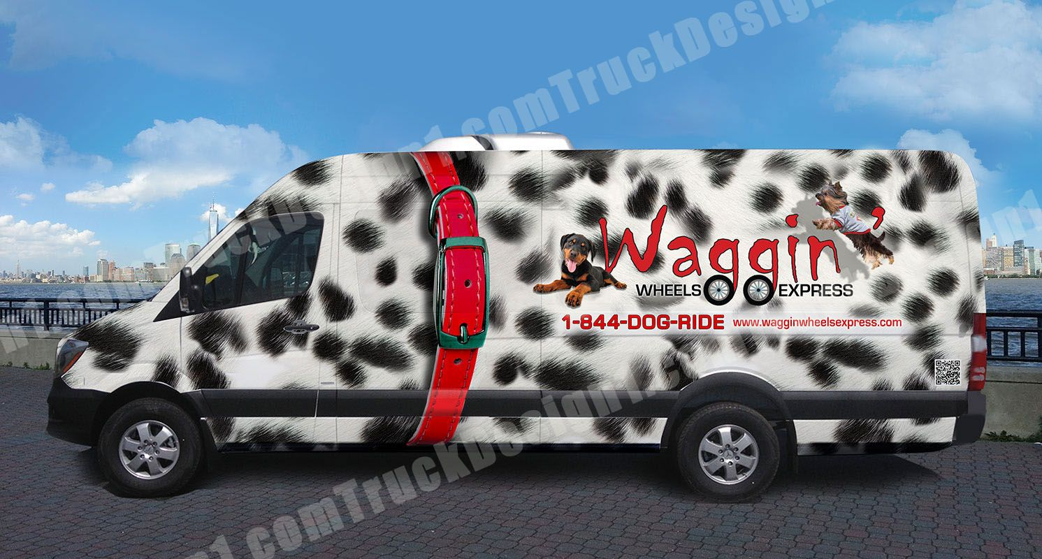 waggin_driver Van design, Vehicles, Van wrap