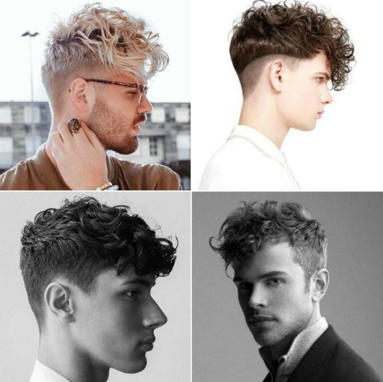 Locken Frisuren Für Männer Sidecut Undercut Wellen Styling Tipps