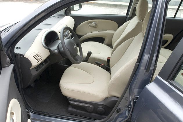 Innenraum: Nissan Micra  mit Diesel-Motor  - 86 PS / 63 kW