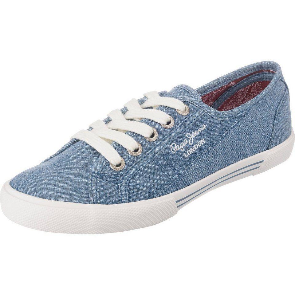 Pepe Jeans Damen Aberlady Eighty Sneaker