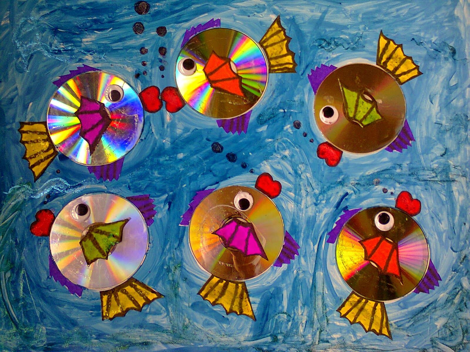 Pics For Recycled Art Projects Kids Ideas