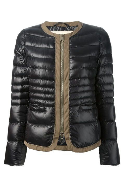 Herno Padded Jacket, $534; farfetch.com Courtesy of Retailer - 15 Chic Puffer Jackets You'll Actually Want to Wear - Elle