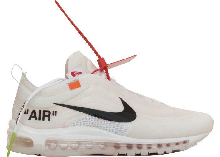 Image: An 'Elemental Rose' OFF-WHITE x Nike Air Max '97