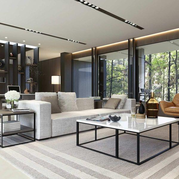ภาพ 3D Perspective Interior | Inspiring l Office Interiors | Salon ...