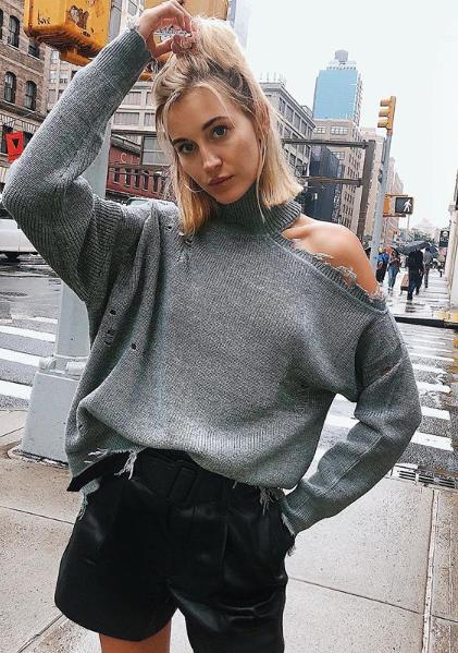 03ba1c88ceba Lovers + Friends Arlington Sweater - $158 #theradicalblog #fall #knit # sweater #elegant #look #trend #style #falloutfits #revolve