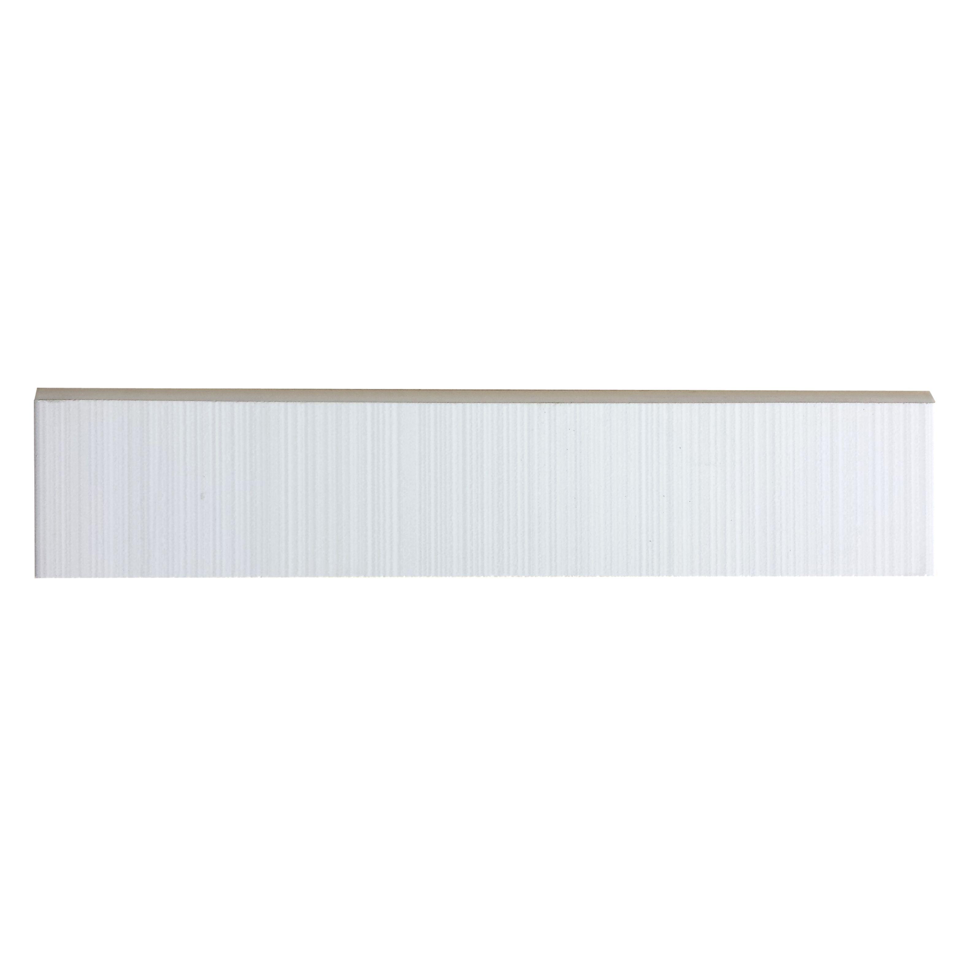 Blairlock White Bullnose Tile | Blairlock White Collection ...