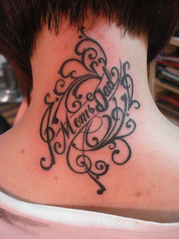 Mum And Dad Tattoo: Mom Dad Tattoo Designs - Google Search