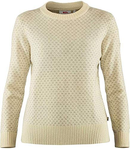 Photo of New FJLLRVEN vik Nordic Sweater Chalk White MD online – Wehaveover