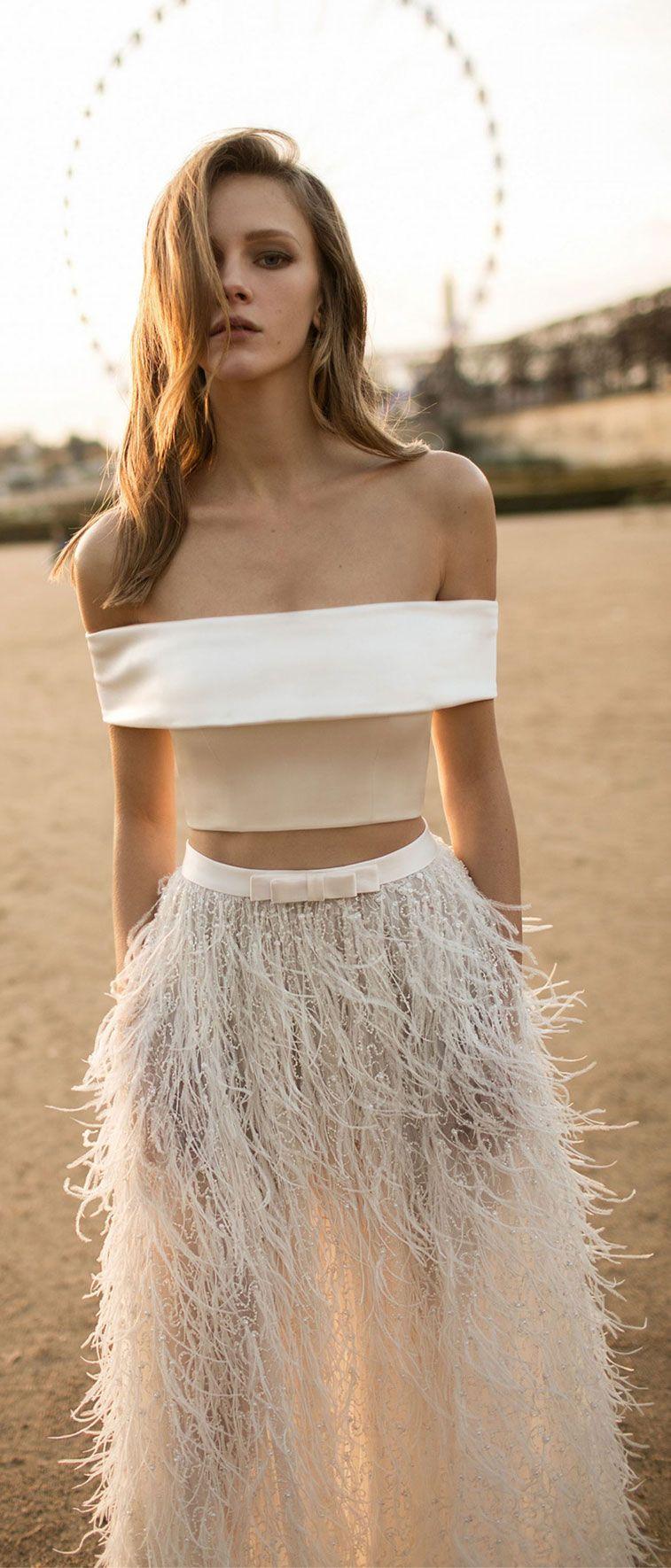 Eisen Stein Wedding Dresses – Light Feather Bridal Collection
