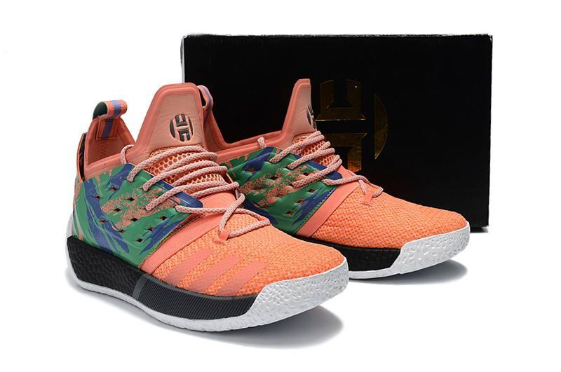 f3eba9d3d Cheap Adidas Harden Vol. 2 Pink Colorful Shoes | fall outfits ...