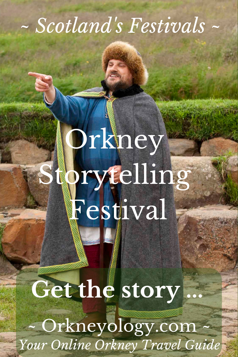 Visit Scotland's Orkney Islands in October - Hear Traditional Orkney Folktales