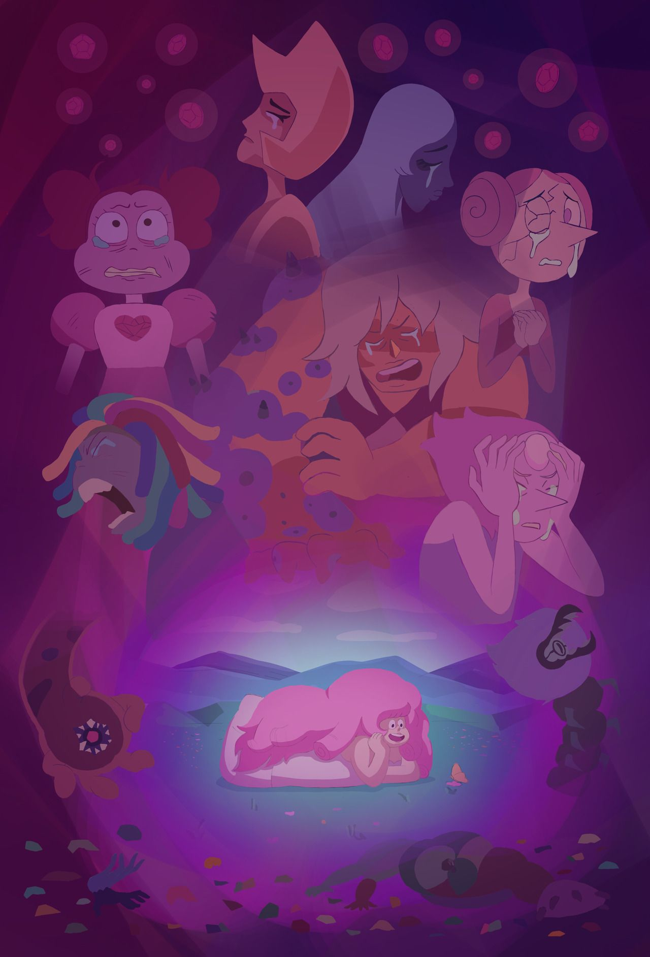 Pin By Ty Larson On Steven Universe Steven Universe Movie Steven Universe Fanart Pink Diamond Steven Universe