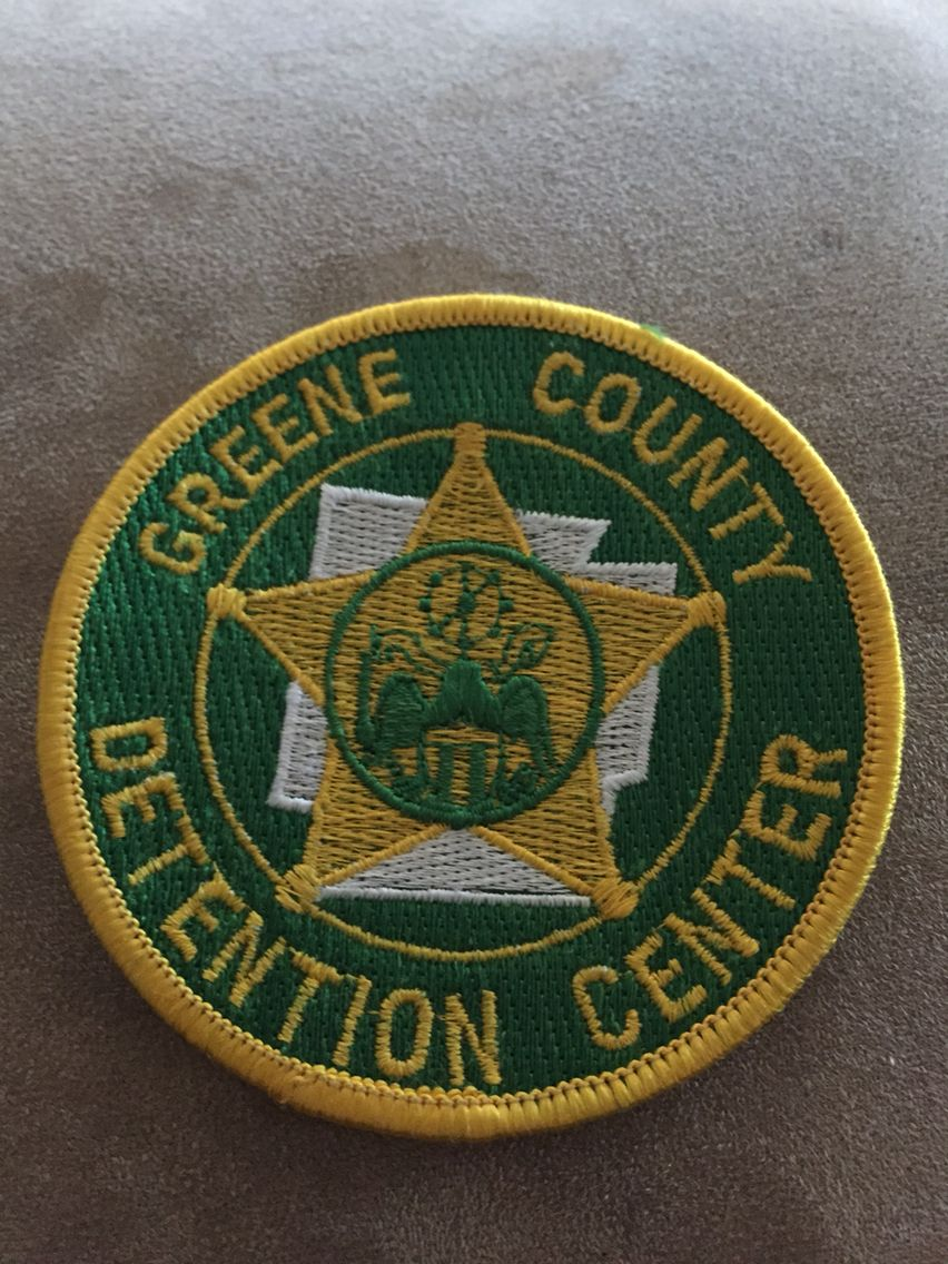 Greene County SO Detention Law enforcement badges, Fire