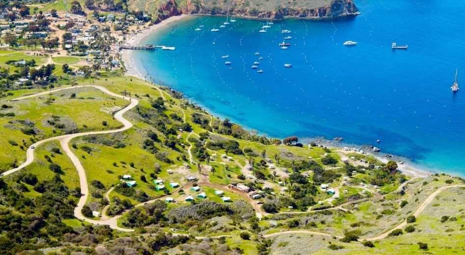 Two Harbors California Camping Visit Catalina Island Catalina Island Trip Camping Experience