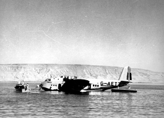 12 October 1940 worldwartwo.filminspector.com Imperial Airways flying boat