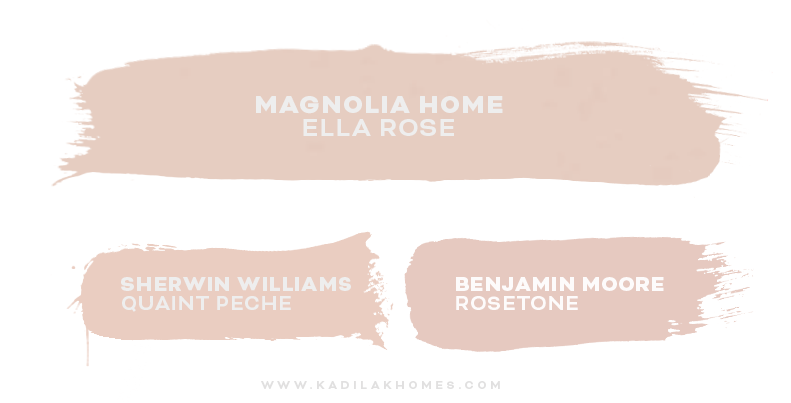 Magnolia Homes Color Matched To Sherwin Williams & Benjamin Moore!
