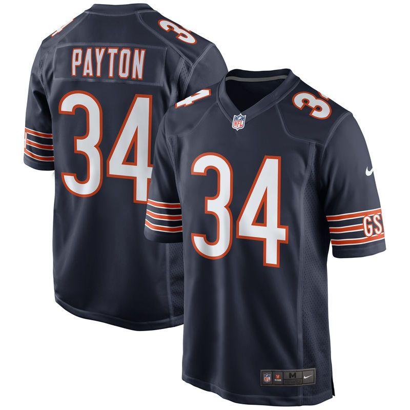 5254f23c300 Walter Payton Chicago Bears Nike Throwback Retired Player Game Jersey - Navy