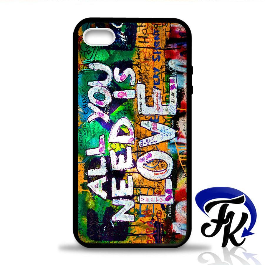 All You Need Is Love Phonecase, Case, Cover Plastic and Rubber for Samsung Galaxy Cases, iPhone Cases, iPod Cases
