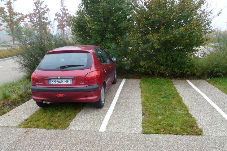 Stationnement perm able au z nith de strasbourg for Parking exterieur