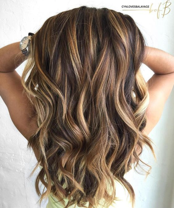 60 Looks With Caramel Highlights On Brown And Dark Brown Hair Hair Hair Highlights Brown Hair With Caramel Highlights