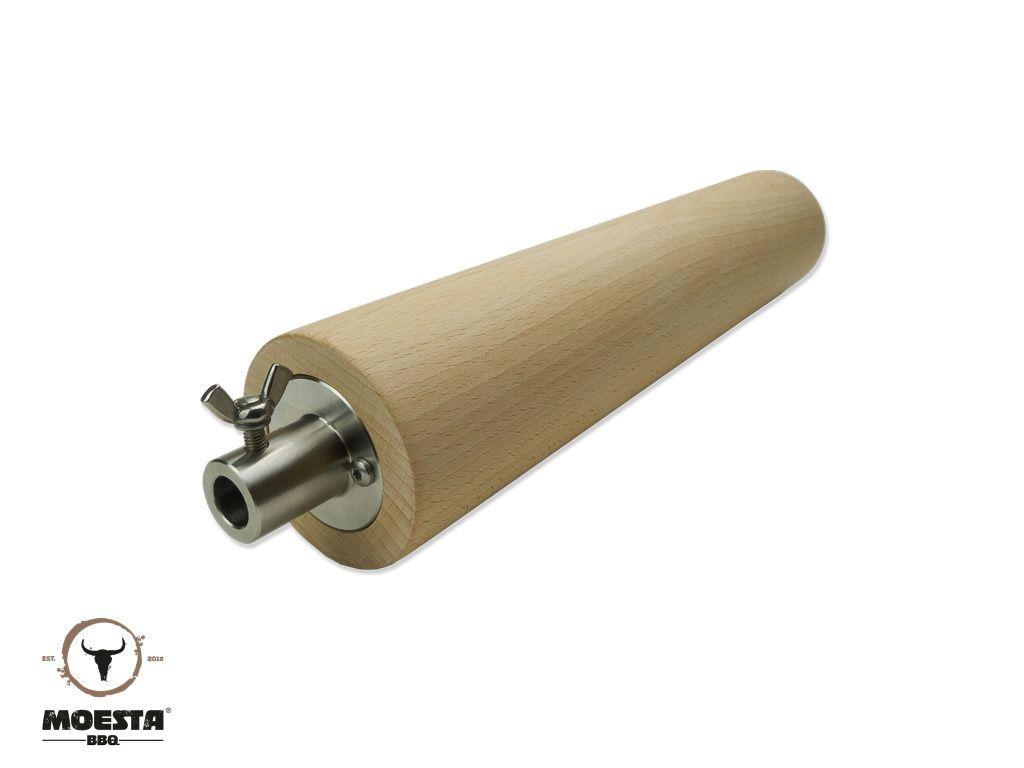 feuerwalze buchenholzrolle f r baumstriezel grillen pinterest stein fen kugelgrill und. Black Bedroom Furniture Sets. Home Design Ideas