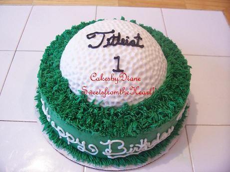 small golf cakes Google Search Dominics bday Pinterest