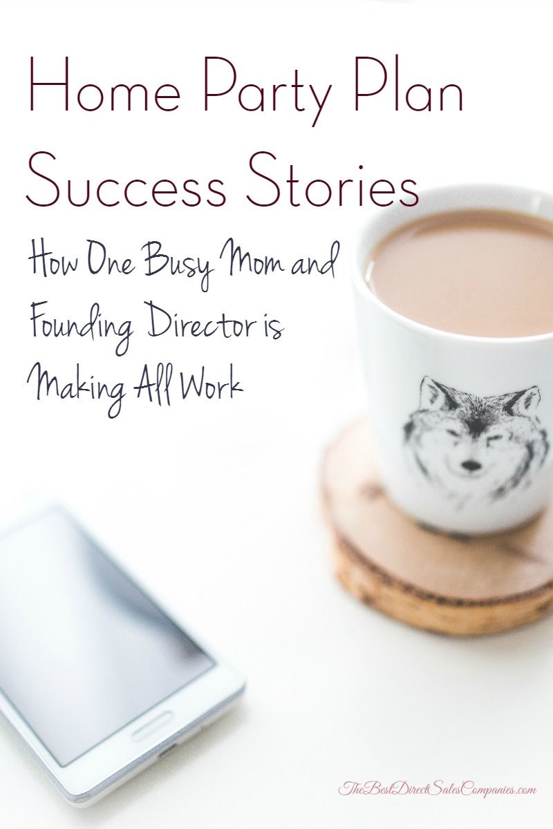 Direct Sales - Northern Clover Founding Director Katie Fox shares her home party plan success story.