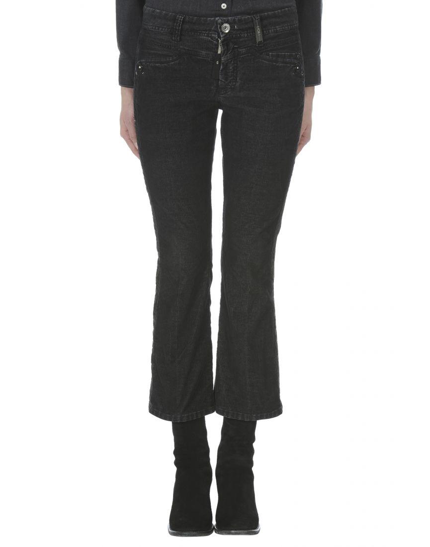 SLANG: Ultra fine corduroy bootleg pants | HIGH | Pants