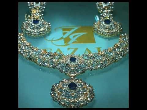 #finejewelry #handmadegifts #pakistanweddings#elegantjewelry Bridal set by fazal jewellers - YouTube