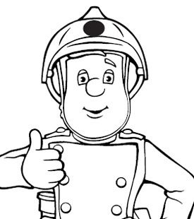 fireman sam spot the difference - Fireman Sam Pictures To Print