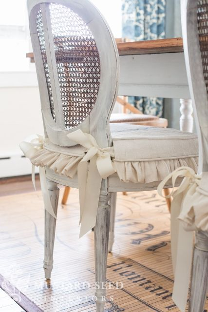 Milk Paint Dining Room Table Makeover