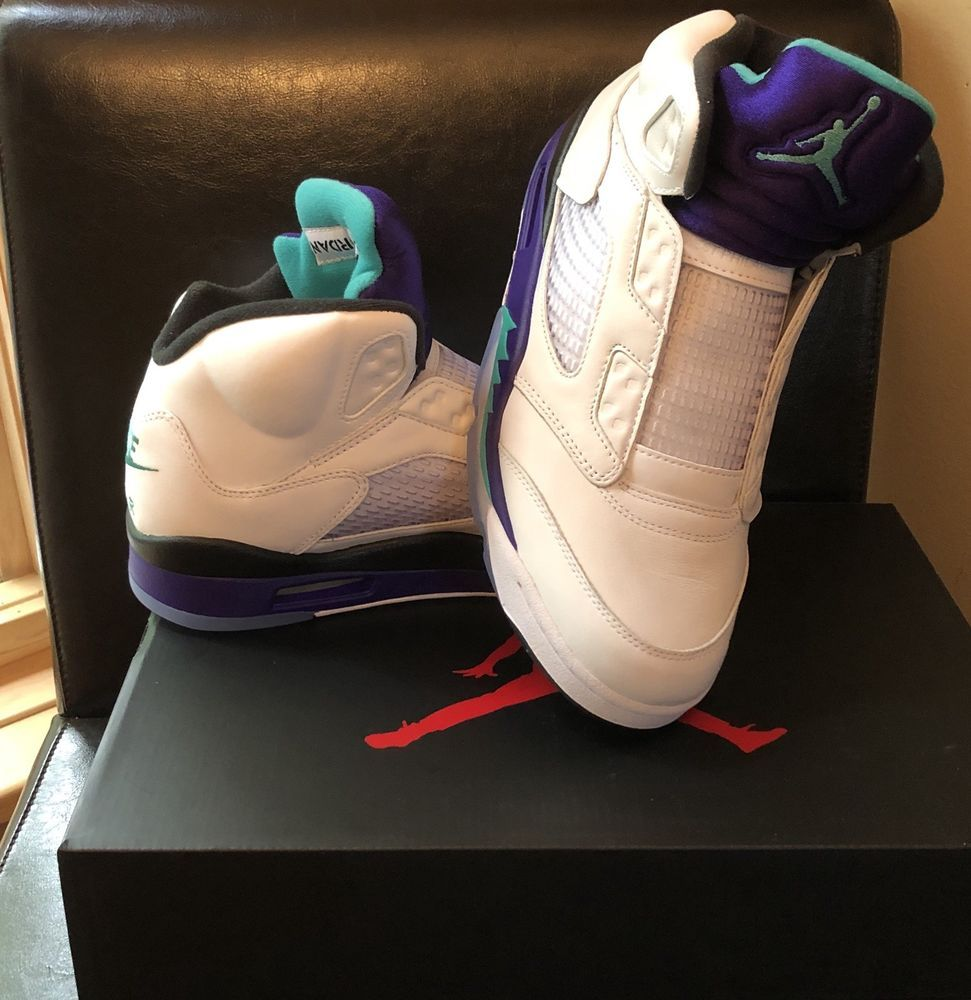 a5087070c6f6f7 Nike Air Jordan 5 Retro Grape Fresh Prince  fashion  clothing  shoes   accessories  mensshoes  athleticshoes (ebay link)