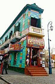 Caminito, La Boca. Argentina