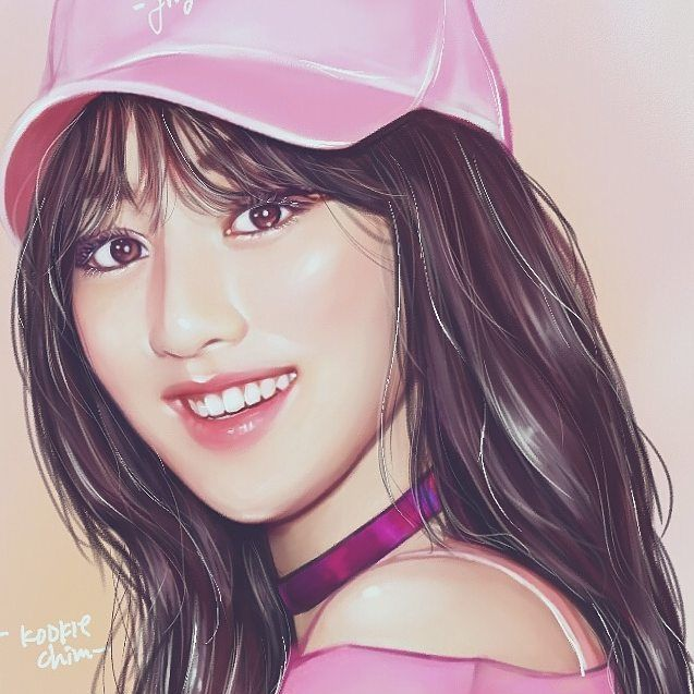TWICE Jihyo I never drawing a girl btw so I trying to drawing it now;; #TWICE #JIHYO #jihyofanart #Parkjisoo #jihyotwice #twicefanart #fanart #illustrator #parkjihyo Commision fa for @arsa.gallery