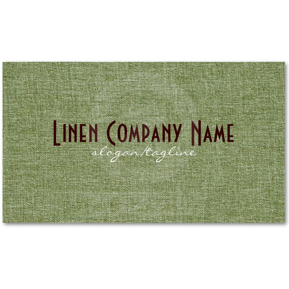 Pastel green linen burlap fabric look business card template from pastel green linen burlap fabric look business card template from zazzle reheart Image collections