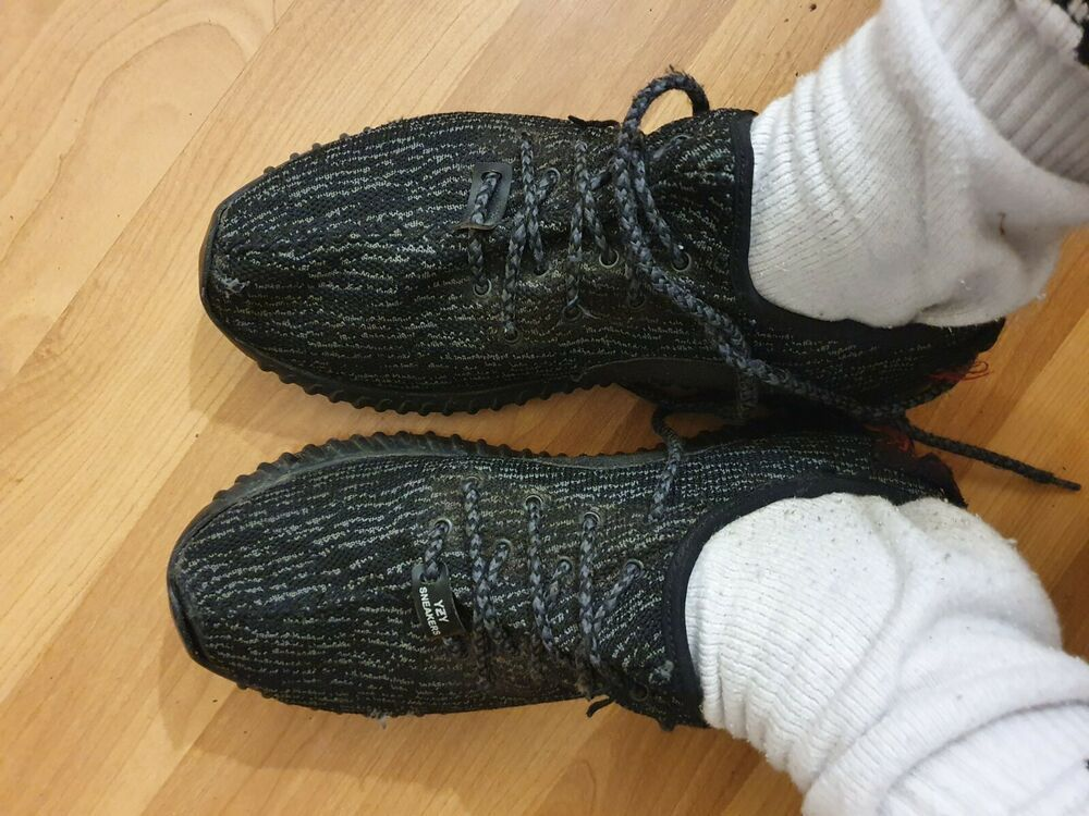 adidas yeezy schwarz weiß jungen