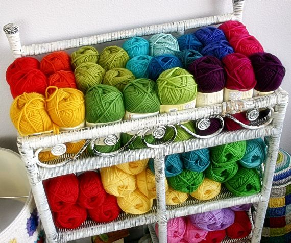 Felted Button - Colorful Crochet Patterns: ::It's Raining Wool!::