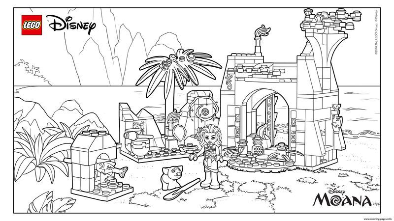 16++ Lego disney coloring pages information