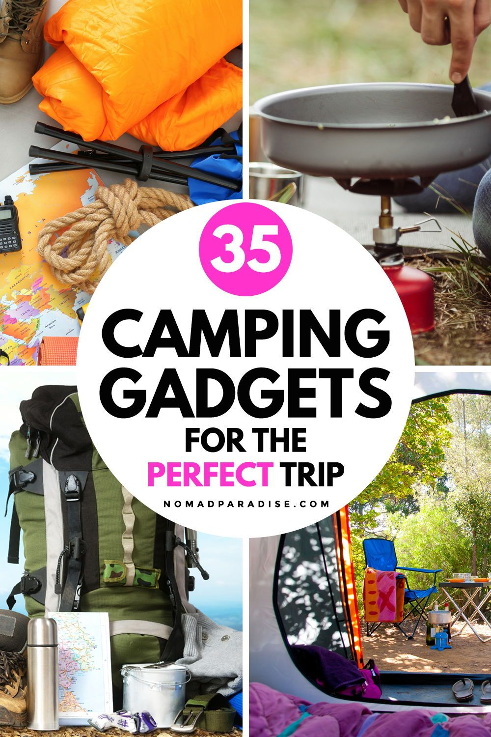 35 Best Camping Gear Essentials, Gadgets, and Gifts (2020