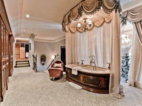 Luxury Bathroom Shower Curtains Design
